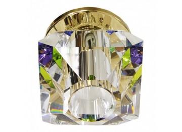 141JD-MC JCD 40W G9 многоцветный, золото (с лампой)