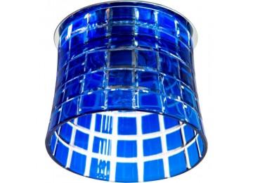 2321 CD JCD9 35W G9 синий, хром (с лампой)
