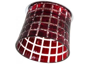 2321 CD JCD9 35W G9 красный, хром (с лампой)