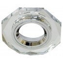 2050-2/(CD3026) серебро-серебро, G5.3 MR16 декоративный со стеклом