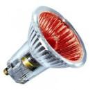 Лампа галогенная BLV POPLINE 50W 35° 240V GU10 красный