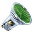 Лампа галогенная BLV POPLINE 50W 35° 240V GU10 зеленый