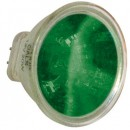 Лампа Hal/LED MR11 12V 20/35W colour glass: blue/green/red