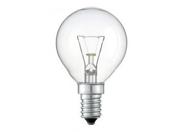 Лампа ДШ 40Вт-60Вт Е14-Е27 прозрачная