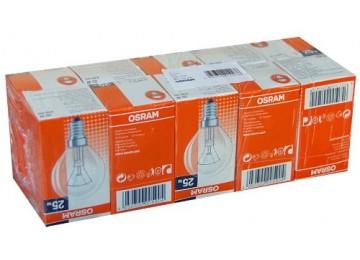 Лампа накаливания E14,E27 шарик Osram
