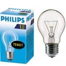 Лампа 25/40/60/75/100W E27 матовые/прозрачные