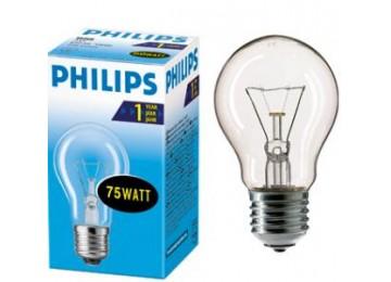 Лампа накаливания 25W-100W E27 Philips