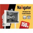NFL-FH1 150 R7s с лампой белый/черный