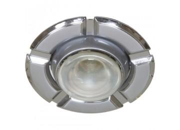 Светильник 098T-плоско-поворот-MR-16-серый-хром-D-L-GU5.3-GY-CM