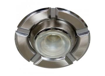 Светильник 098T-плоско-поворот-MR-16-титан-хром-D-L-GU5.3-TN-CM