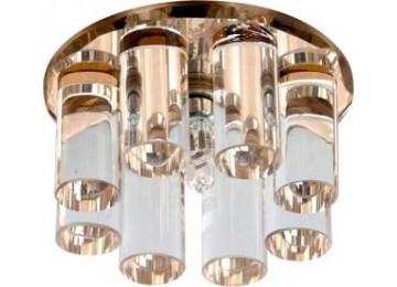 Светильник 1301 JC 20W G4 коричневый (с лампой)