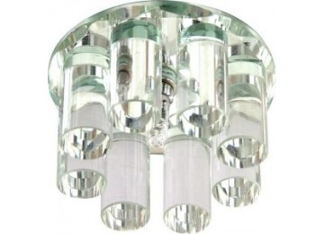 Светильник 1301 JC 20W G4 прозрачный (с лампой)