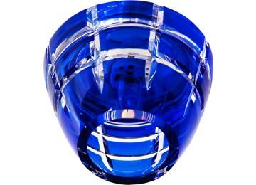 Светильник 2112 CD JCD9 35W G9 синий (с лампой) потолочный