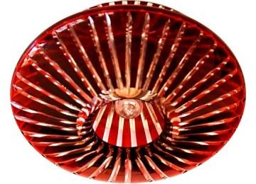 Светильник 2116 CD JCD9 35W G9 красный (с лампой) потолочный