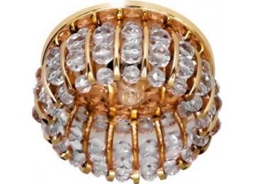 Светильник 2119 CD JCD9 35W G9 прозрачный, золото (с лампой)