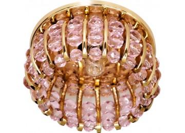 Светильник 2119 CD JCD9 35W G9 розовый, золото (с лампой)