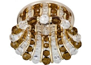 Светильник 2120 CD JCD9 35W G9 прозрачный-коричневый, золото (с лампой)
