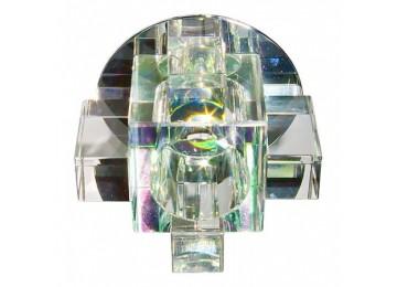 Светильник 1037СA с лампой прозрачный G9