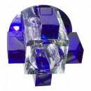 1037СB с лампой синий G9