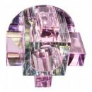 1037СР с лампой розовый, G9