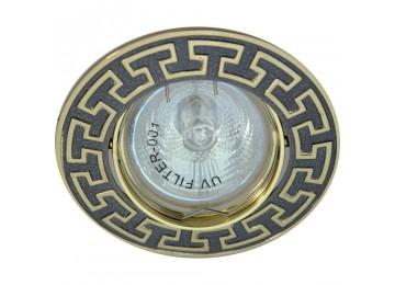 Светильник 1008 АL R39 золото-титан GN