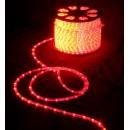 световая нить 13мм верт. красный 2W (36 led/m)
