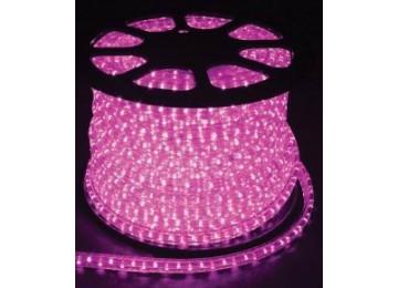 световая нить 13мм-верт-розовый-2W