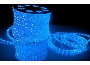 световая нить 13мм-верт-синий-2W