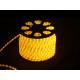 Дюралайт светодиодный 13мм верт. желтый 100м 2W