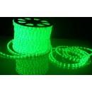 световая нить 13мм верт. зеленый 2W (36 led/m)