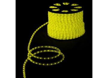 световая нить 13мм-верт-лимонный-2W