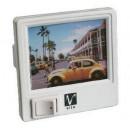 Ночник 807 white квадрат (разные картинки) Vito