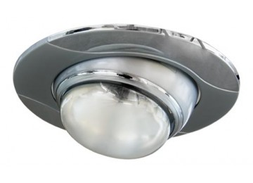 Светильник 020-R-50 серый-хром D-L E14