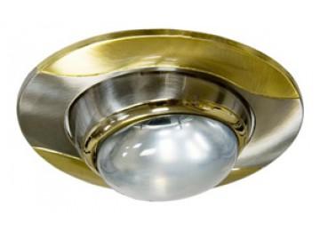 Светильник 020-R-50 титан-золото D-L E14