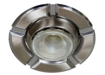 Светильник 098-R-39-серый-хром-D-L-E14-GY-CM