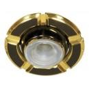 Светильник 098 R-39 черный-золото D/L E14 BK-GD