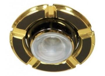 Светильник 098-R-39-черный-золото-D-L-E14-BK-GD