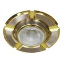 Светильник 098 R-39 титан-золото D/L E14 TN-GD