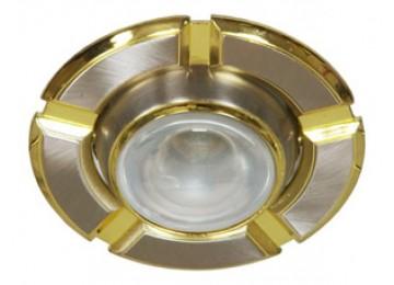 Светильник 098-R-39-титан-золото-D-L-E14-TN-GD