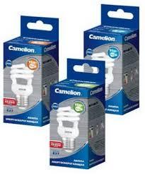 Лампа FC AS T2 11W/827 E27 Camelion